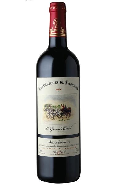 【也买酒】朗珊马车干红葡萄酒2004