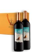 玛丽亚海之情干红葡萄酒双支礼盒装