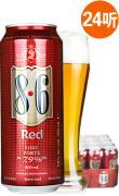 进口啤酒 荷兰啤酒 宝华利8.6红啤酒 500ml*24听