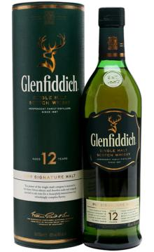 格兰菲迪12年单一纯麦威士忌 Glenfiddich 12Y  700ml