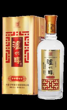 52°泸州醇酒(金五钻)500ml