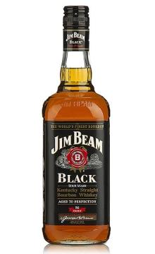 黑占边波本威士忌