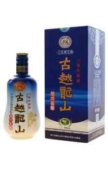 古越龙山 八年陈 500ml 糯米黄酒 绍兴花雕