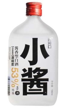 53°两河口小酱(磨砂瓶)100ml