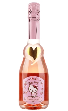 凯蒂猫(甜蜜桃红)起泡葡萄酒375ml