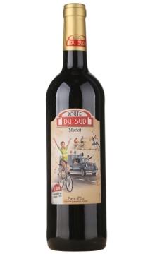 法国南法风情赛车手红葡萄酒