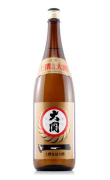 日本原装进口洋酒 大关牌上选金冠清酒1800ml