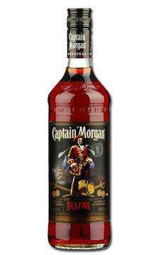 洋酒 Captain Morgan Black摩根船长黑朗姆酒 烘培
