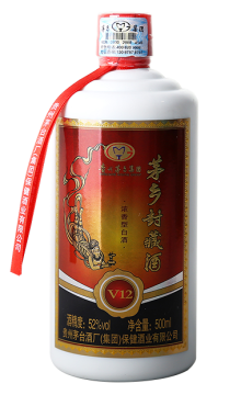 52°茅乡封藏酒 V12 500ML