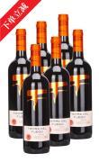 火地島經典梅洛干紅葡萄酒-6支裝