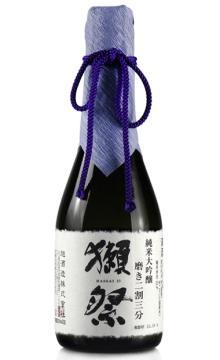日本原装进口洋酒 獭祭纯米大吟酿清酒二割三分300ml