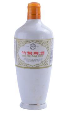 竹叶青酒瓷瓶出口90年代后期45度500ml