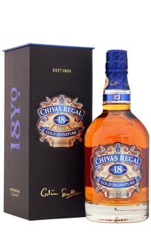 洋酒chivas 芝华士苏格兰威士忌18年苏格兰威士忌 CHIVAS REGAL 750ml