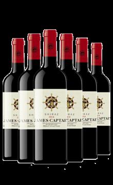 詹姆士船长西拉干红-6支装