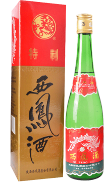 45°西凤酒500ml 2001-2003年 陈年老酒