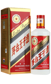 茅臺王子酒2017年53度500ml